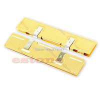 Wholesale Ram Ddr Ddr2 Memory - Wholesale- Gold DDR DDR2 RAM NEW Memory Cooler Heat Spreader Heatsink #R179T#Drop Shipping