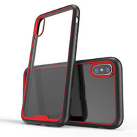 Custodia trasparente trasparente per scatola trasparente Anti Scratch Proof per ShockProof Supcase per iPhone X 8G 7G e Samsung S8 Plus No Logo Opp Bag
