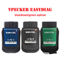 Wholesale Car Diagnostics Auto Scanner - Car Diagnostics Tool Newest Vpecker EasyDiag V8.5 Wifi Bluetooth OBD2 16Pin Plug Full Systems Auto Scanner automotivo Vpecker