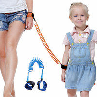 Wholesale Toddler Safety Harness Wholesale - Baby Child Anti Lost Safety Wrist Link Harness Strap Rope Leash Walking Hand Belt for Toddlers Kids 1.5m 2m 2.5m
