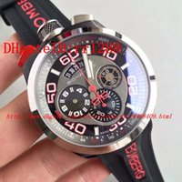 Wholesale Men Watch Automatic Pocket - Top quality Red letters original Bom watch into a pocket watch Toys for boys Swiss watch BOLT-68 original machine 3540D movement men