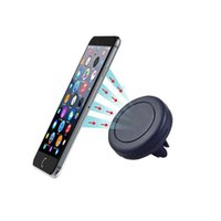 Venda Por Atacado Universal Car Air Vent Mount Holder Suporte Magnetic Telefone Móvel Titular Para iphone 7 6S Para Samsung Cell Phone Tablet GPS
