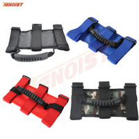 Wholesale Black Jeep Jk - High Quality Front And Black Black Red Blue Yellow Camouflage Handle For Jeep Wrangler YJ TJ JK
