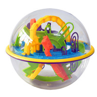 Wholesale Game Steps - Wholesale- 168 Steps Perplexus Original 3D Magic Intellect Maze Ball Children Balance Logic Ability Puzzle Game Brain Teaser Training Tool