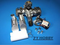 Wholesale Gas Engine For Airplane - Original DLE120 Gas Engine For Remote Control Gasoline Airplane US Stock