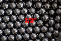 Wholesale Chrome Steel Ball Bearings - 1 2'' (12.7mm) Chrome Steel Bearing Balls G16 AISI 52100 100Cr6 Precision Chromium Balls For Automotive Components, All Kinds of Bearings