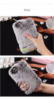 Wholesale Galaxy S4 Girl Cases - Rabbit Hair Soft Smooth Touch Fur Case Shockproof Protective Women Girl Lady Cover for iPhone 6 6S 5S NOTE 4 3 PLUS Galaxy S4 S5 S6 sale!!