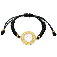 Wholesale Shell Bracelet Kids - Unisex Handmade Cute Children Roman Numerals Bracelet For Kids Girls Boys Gift Weave Nylon Rope Charm Bracelet For Women Jewelry