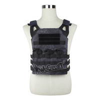 WoSporT JPC Tactical Vest Chest Rig Jumper portador Nylon MOLLE Gear para Airsoft deportes Paintball Caza Shootin Combat Protected Vest