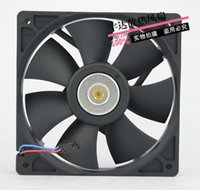Wholesale Line Processor - Original Delta AFB1224SH 12025 24V 0.42A 120 * 120 * 25MM 3-line large air volume control Mute frequency converter fan