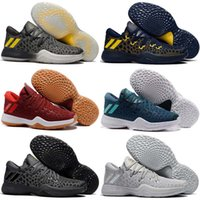Wholesale Cotton Balls Lights - 2017 New Arrival James Harden 2 Vol.2 Men's Basketball Shoes Wolf Grey Sports Basket Ball Sneakers Training Boost Size 7-12