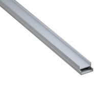 luz colgante lineal al por mayor-10 X 1M juegos / lote anodizado Linear luz aluminio perfil led y aluminio Al6063 canal en forma de U para lámparas de techo o colgante