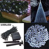 Wholesale led street lights sale for sale - Group buy Hot Sale Outdoor Led Christmas Lights LED M Color Led Solar String Lead Fairy Lights for Holiday Garden Christmas Wed Home Decoration