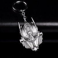 metal transformer 2021 - Fashion Transformers Mask Keychain For Men Trinket Llavero Anime Car Keyring Key Chain Ring Key Holder Chaveiro Jewelry Gift Souvenirs