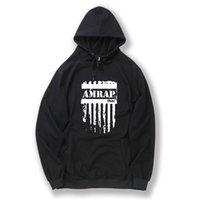 Wholesale Crossfit Hoodie - Cotton blend conventional material AMRAP printed men sweatshirt fleece casual winter CROSSFIT mens hoodies and sweatshirt