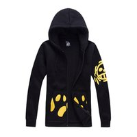 Wholesale one piece law costumes resale online - One Piece Trafalgar Law Trafalgar D Water Law hoodies second generation top coat Cosplay