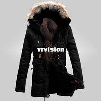 Wholesale Winter Jacket Fur Wadded - winter mens jacket big size xxxl wadded free shipping fashion male's cotton coat thicken Parkas men's coat Fur collar hood 95wj