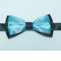 Wholesale Cravat Ascot Necktie Neck Ties - Wholesale- kids' bow tie knots boys' cravat neck ties bowties baby ascot butterflies neckwear necktie