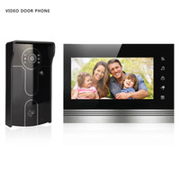 Wholesale I Unlocked - XSL-V70k-IDP Video Phone Intercom System Kit I Monitor 1 Camera Night Vision With Unlock By ID Card Doorbell