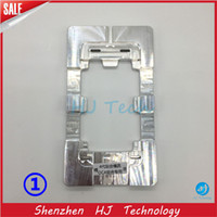 Wholesale Iphone 4s Outer Glass - Metal Aluminum LOCA UV Glue Alignment LCD Outer Glass Lens Mould Mold For iPhone 6s 6plus 7plus 4 4S 5C 5 5S Samsung Galaxy S3 S4 S5 S6