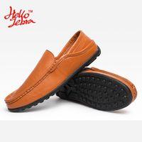 Wholesale Men Peas Shoes - Hellozebra Men Casual Shoes Fashion Two Wear Peas Shoes Letter Simple Basic Breathable Balance Light Shoe 2016 Autumn New Design Comfortable