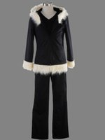 Wholesale Vogue Games - DuRaRaRa Orihara Izaya Cosplay Costumes Vogue Black Coat Jacket Halloween clothes