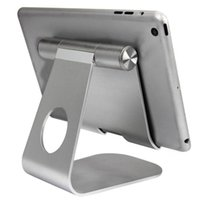 Wholesale Dock Telephone - Universal Adjustable Aluminum Alloy Holder Stand Dock For iPad Pro 12.9 9.7inch Tablet support de telephone portable