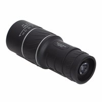 Wholesale Angled Spotting Scope - 10pcs 16X52 HD Spotting scope Telescope Monocular Telescope Caliber For Sport Camping wide angle low light night vision Best Price
