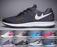 Wholesale Tennis Running Femme - Wholesale High Quality Women & Men Air Mesh Zoom Pegasus 33 Running Shoes Femme & Homme Trainers Sneakers Jogging Zapatos Eur36-45