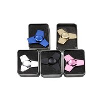 Wholesale Wholesale Alum - New EDC Tri-Spinner Fidget Toys Pattern Hand Spinner Alum Fidget Spinner and ADHD Adults Children Educational Toys Anti-stress