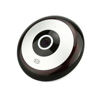 Wholesale Eye Camera Wireless - 960P 2.8mm focus Home Security fish eye 360° full vision Motion Detection Wireless WIFI HD 720 IP Camera CCTV support SD