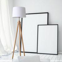 Wholesale Simple Floor Lamps - 2017 Modern Simple living room floor lamp floor lamp modern minimalist bedroom floor lamp vertical Nordic creative LED lamps