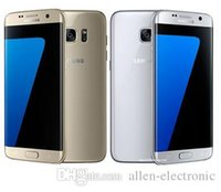 "Wholesale New 4g Phones - 2016 New Arrival Original refurbished Samsung Galaxy S7  Galaxy S7 Edge 5.1"" 12MP Camera 4GB RAM 32GB ROM 4G LTE Mobile phone"