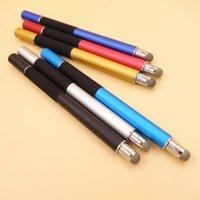 Wholesale Capacitive Stylus Fine - 2 in 1 Mutilfuction Fine Point Round Thin Tip Touch Screen Pen Capacitive Stylus Pen For iPad iPhone All Mobile Phones Tablet