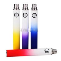 Wholesale Rainbow Adjustable E Cig Batteries - Ego Evod Battery rainbow E-cigarette Luxury shadow Battery Electronic Cigarette MT3 E cigarette for MT3 CE4 Atomizer 510 eGo Atomizer E-cig