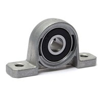 Commercio all'ingrosso - Zinc Alloy Diametro 8mm Bore Supporto sospeso Supporto supporto KP08 55x13x28mm