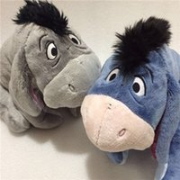Original Grey Blue Special Eeyore Donkey Stuff Animal Cute Мягкая плюшевая игрушка Doll Birthday Gift Gift Collection
