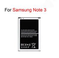 оригинальный аккумулятор samsung galaxy note оптовых-Новый оригинальный литий-ионный аккумулятор мобильного телефона для Samsung Galaxy S4 I9500 Альфа G850 Примечание 3 Примечание III N900 высокое качество замены батареи