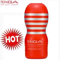 Wholesale Tenga Toc - TENGA TOC-101 Deep Throat Sex Cup Standard Version Sex Cup Male Masturbator Sex Toys For Men Pocket Pussy q170686