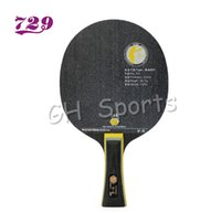 Wholesale table tennis friendship 729 - Wholesale- RITC 729 Friendship V-8 (V8, V 8) Carbon OFF plus Table Tennis Blade for PingPong Racket