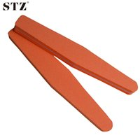 Wholesale rhombus nail art - Wholesale- 2pcs Pro Nail Art Files Rhombus Sanding Sandpaper 100 180 Manicure Salon Tools Nail Accessory Nail Art Buffer NC129