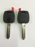 KL43 Transponder Key Shell pour Nissan Key Fob Cover Non coupé Blade Replacement Key Shell pour Nissan NO LOGO