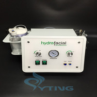 Wholesale oxygen infusion - portable hydra facial device water microdermabrasion machine oxygen infusion skin srubber skin cleansing beauty device