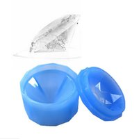 Wholesale Diamond Mould - Silicone 3D Diamond Ice Mold Ice Cube Tray Jelly Candy Chocolate Mould Crystal Freeze Ice Maker
