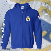 spanish sweater - Madrid Real Madrid Football Jersey cardigan sweater sweater in spring and autumn Spanish men jacket