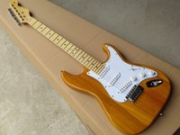 Wholesale Orange Guitars - Limited - time discountfree Free shipping 2017 new Wholesale Hot New Arrive Stratocaster Electric Guitar Electric Guitar In Stock