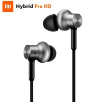 Wholesale Pro Mic Headset - Hotseller Xiaomi Mi Hybrid Pro Earphone Circle Iron Pro Triple Unit Dual Dynamic Armature Mic Graphene In-Ear Headphone Headset Earbud