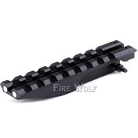 Wholesale Airsoft Electric Gun - Tactical Picatinny Rear Weaver 20mm Rail Mount For AK Series Airsoft Electric Gun AEG AK 47 Sight Rail Hunting Scope Mount