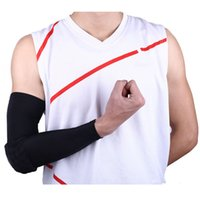 Wholesale Arm Padding - Crashproof Sports Flexible Basketball Althelets Arm Sleeve Elbow Pads Support Honeycomb Pad Outdoor Cycling Protect Sports Safety Sleeves