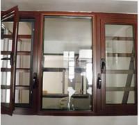 construccin de la casa de la aleacin de aluminio vidrio tilvuelta oscilacin plegamiento puerta de la abertura fija